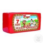 Сыр Prego Чеддер Даниэль твердий 35% 7 месяцев