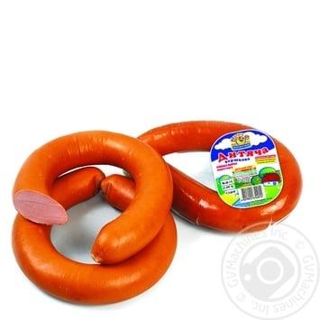 Колбаса Ятрань Детская сливочная вареная в/с - купить, цены на Novus - фото 1