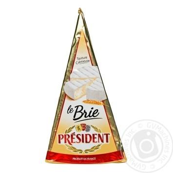Сыр Президент бри мягкий с плесенью 60% 200г