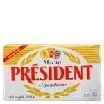 European-style butter President 82% 200g
