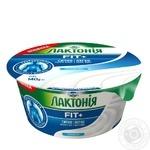 Крем сирковий Лактонія термізований нежирний 0,2% 140г