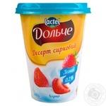 Cottage cheese dessert Dolce strawberry 0% 400g