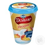 Cottage cheese dessert Dolce peach 400g