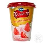 Десерт сирковий Дольче Полуниця 3,4% 400г
