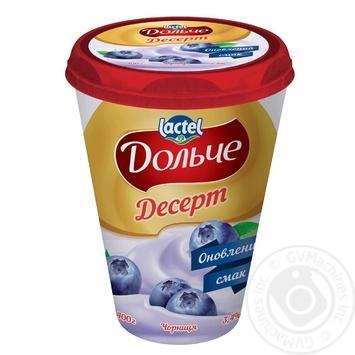 Десерт творожный Дольче Черника 3,4% 400г