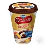 Dolce with chocolate and peach dessert 3.4% 400g