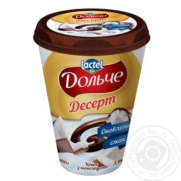 Dolce Curd Coconut Flavor Dessert - buy, prices for MegaMarket - image 1