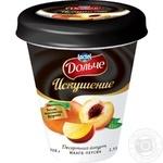 Йогурт десертний Дольче Спокуса Манго-Персик 2,5% 300г