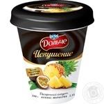 Йогурт десертный Дольче Искушение Ананас-Маракуйя 2,5% 300г