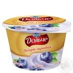 Dolce with blueberries curd dessert 3.4% 200g