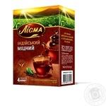 Чай Лисма Индийский крепкий листовой 90г