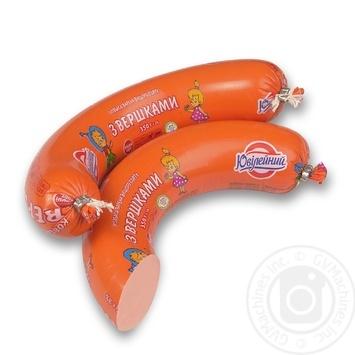 Колбаса Юбилейный со сливками высший сорт 350г - купить, цены на Фуршет - фото 1