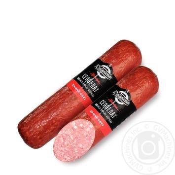 Yuvileyniy Cervelat smoked-boiled sausage 330g