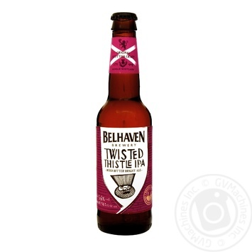 Пиво Belhaven Twisted Thistle светлое 0,33л