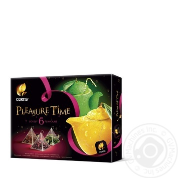 Чайное ассорти Curtis Pleasure time в пакетиках 52г