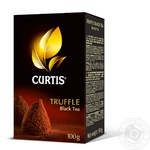 Чай чёрный Curtis Truffle Black ароматизированный листовой 100г