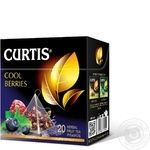 Чай черный Curtis Cool Berries в пирамидках 20шт*1,7г