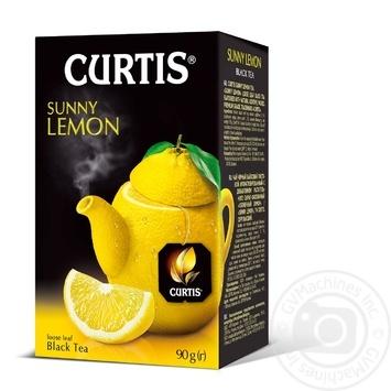 Чай черный Curtis Солнечный Лимон 90г