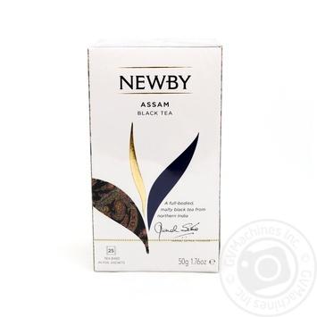 Newby Assam black tea 25*2g