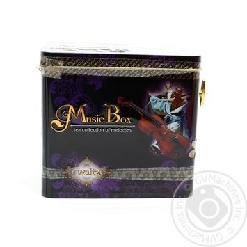 Чай чорний Вальс з музикою крупнолистовий CHELTON Музична шкатулка 100гж/б - купити, ціни на Novus - фото 1