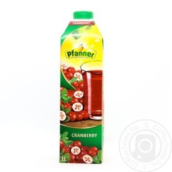 Phanner Cranberry Juice 1l