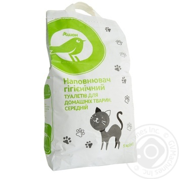 Litter Auchan Auchan for pets 5000g - buy, prices for Auchan - image 1