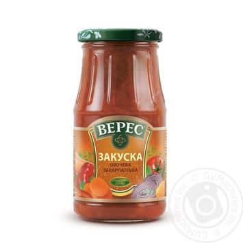 Veres Zakarpatska vegetable appetizer 500g