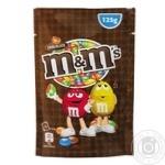 Драже M&M's с молочным шоколадом в хрустящей разноцветной глазури 125г