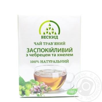 Чай трав'яний Заспокійливий з чебрецем Бескид 100г - купити, ціни на Novus - фото 5