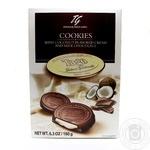 Печиво з кремом зі смаком кокосу в молочному шоколаді Tago 180г