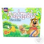 Печенье Nora Animals Медвежата с медом и шоколадной начинкой 12*14,6г 175г