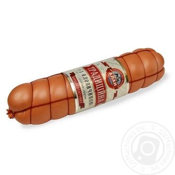 Ковбаса Традиційна з яловичиною Алан п/а в/г ваг - купить, цены на Novus - фото 1