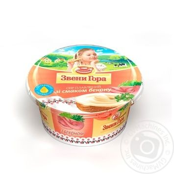 Zveni Gora Processed Cheese Bacon Flavor - buy, prices for Furshet - image 1