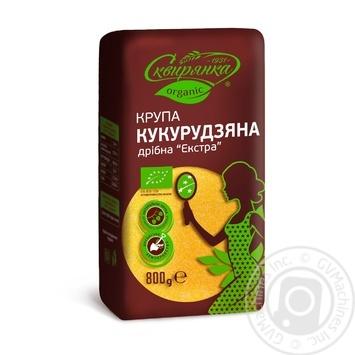 Skviryanka Extra Organic Corn Grits Fine Ground - buy, prices for MegaMarket - image 1