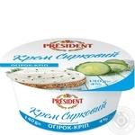 President cucumber-dill curd cream 4% 140g
