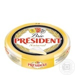 Сир 60% Брі President ваг