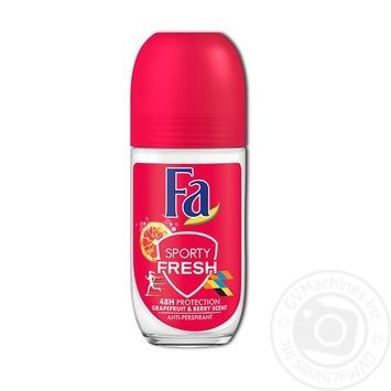 Fa Sporty Fresh Antiperspirant movie aroma of grapefruit and berries 50ml - buy, prices for Novus - image 1