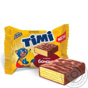 Цукерки зі смаком банана Конті Timi ваг
