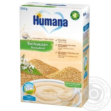 Humana for children dairy-free porridge buckwheat 200g - buy, prices for CityMarket - photo 1