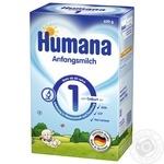 Смесь сухая молочная начальная Humana 1 для детей от 0 до 6 месяцев 600г