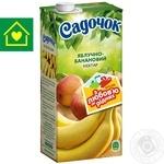 Нектар Садочок яблучно-банановий 0,95л