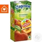 Сок Садочок персиковый 1,93л