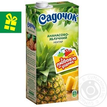Сік Садочок ананасово-яблучний 0,95л