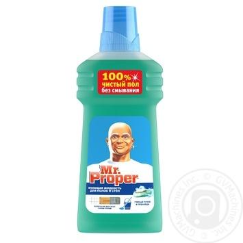 Средство Mr.Proper Горное источник и прохлада для мытья полов и стен 500мл