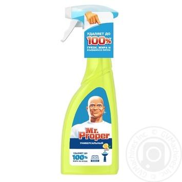 Средство чистящее Mr.Proper лимон 500мл - купить, цены на МегаМаркет - фото 1