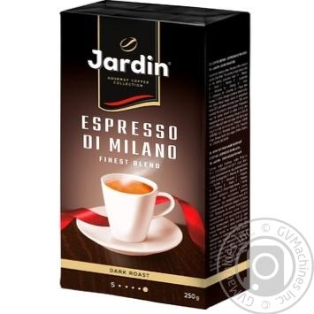 Кава мелена Jardin espresso 250г - купити, ціни на Novus - фото 4