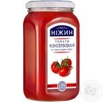Томаты Нежин в томатном соке консервированные 920г