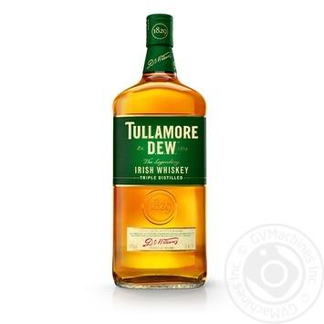 Віскі Tullamore Dew Original 40% 1л - купити, ціни на Метро - фото 1