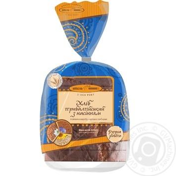 Хліб Київхліб Прибалтійський з насінням нарізний 325г - купити, ціни на Фуршет - фото 1