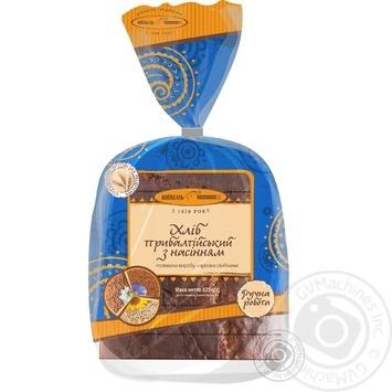 Хліб Київхліб Прибалтійський з насінням нарізний 325г - купити, ціни на Фуршет - фото 3